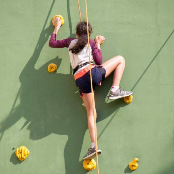 Climbing wall 520