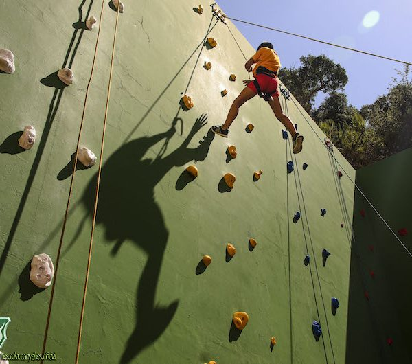 Climbing wall 188
